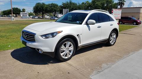 2015 Infiniti QX70 for sale at MOTORSPORTS IMPORTS in Houston TX