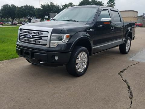 2013 Ford F-150 for sale at MOTORSPORTS IMPORTS in Houston TX