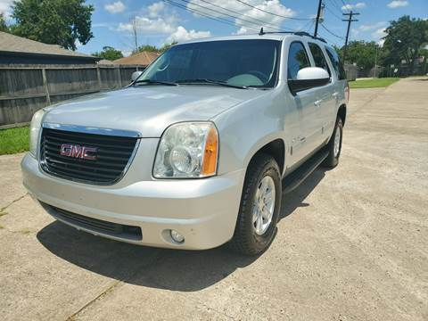 2012 GMC Yukon for sale at MOTORSPORTS IMPORTS in Houston TX