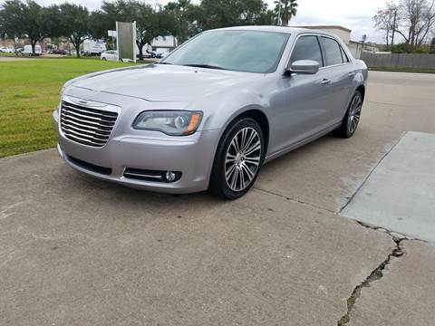 2014 Chrysler 300 for sale at MOTORSPORTS IMPORTS in Houston TX
