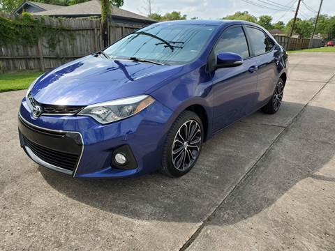 2016 Toyota Corolla for sale at MOTORSPORTS IMPORTS in Houston TX