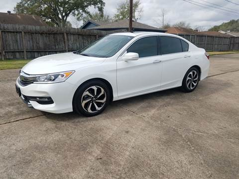 2017 Honda Accord for sale at MOTORSPORTS IMPORTS in Houston TX