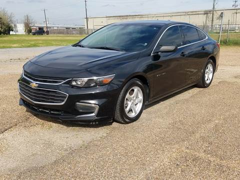 2017 Chevrolet Malibu for sale at MOTORSPORTS IMPORTS in Houston TX