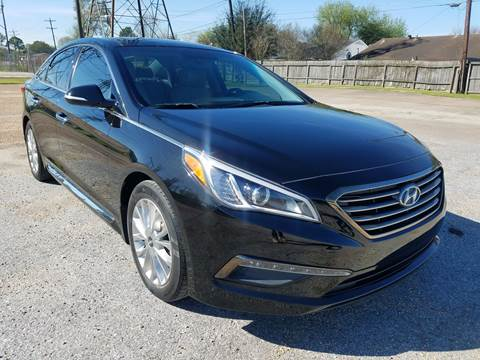 2015 Hyundai Sonata for sale at MOTORSPORTS IMPORTS in Houston TX