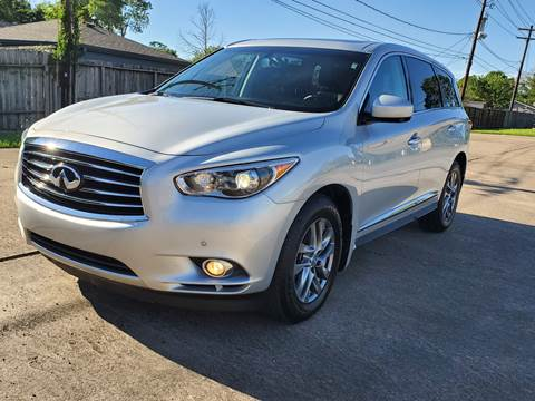 2013 Infiniti JX35 for sale at MOTORSPORTS IMPORTS in Houston TX