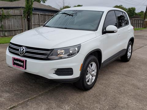 2017 Volkswagen Tiguan for sale at MOTORSPORTS IMPORTS in Houston TX