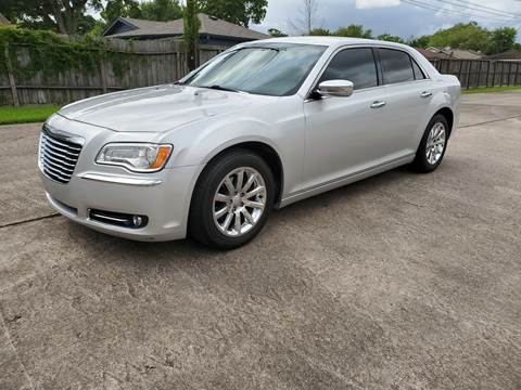 2012 Chrysler 300 for sale at MOTORSPORTS IMPORTS in Houston TX