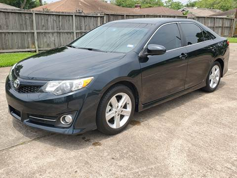 2012 Toyota Camry for sale at MOTORSPORTS IMPORTS in Houston TX