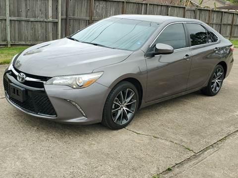 2016 Toyota Camry for sale at MOTORSPORTS IMPORTS in Houston TX