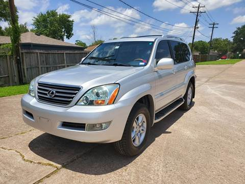 2007 Lexus GX 470 for sale in Houston, TX