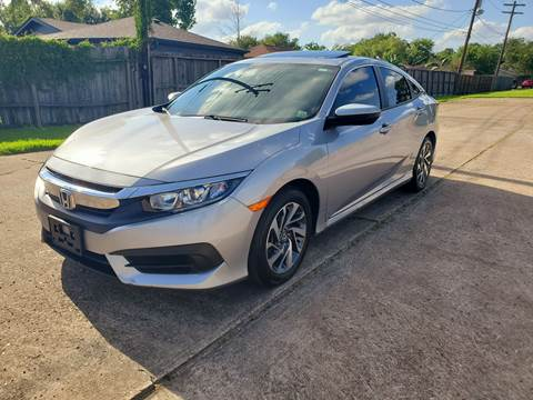 2018 Honda Civic for sale at MOTORSPORTS IMPORTS in Houston TX