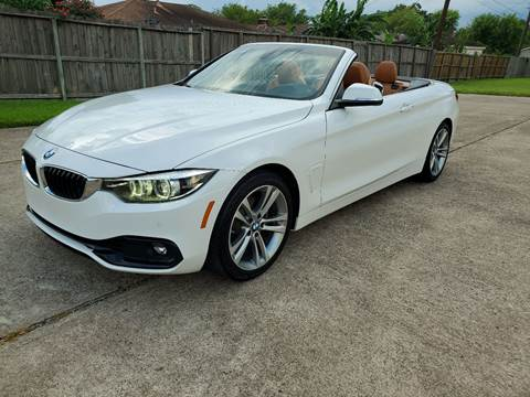 2018 BMW 4 Series for sale at MOTORSPORTS IMPORTS in Houston TX