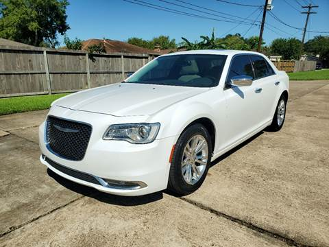 2016 Chrysler 300 for sale at MOTORSPORTS IMPORTS in Houston TX