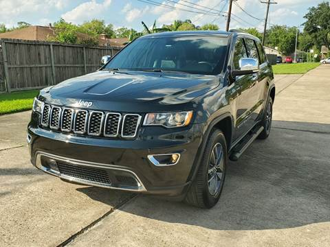 2017 Jeep Grand Cherokee for sale at MOTORSPORTS IMPORTS in Houston TX