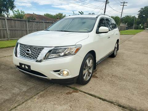 2015 Nissan Pathfinder for sale at MOTORSPORTS IMPORTS in Houston TX