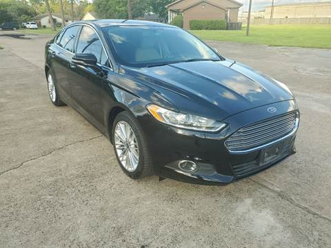 2016 Ford Fusion for sale at MOTORSPORTS IMPORTS in Houston TX