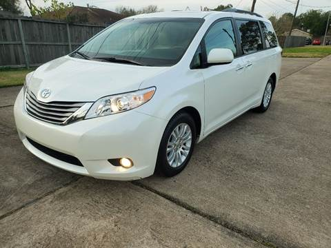 2015 Toyota Sienna for sale at MOTORSPORTS IMPORTS in Houston TX