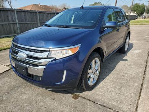 2012 Ford Edge for sale at MOTORSPORTS IMPORTS in Houston TX