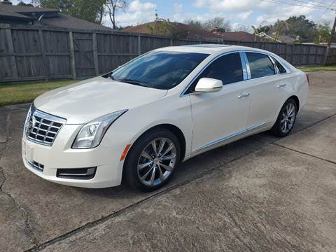 2013 Cadillac XTS for sale at MOTORSPORTS IMPORTS in Houston TX