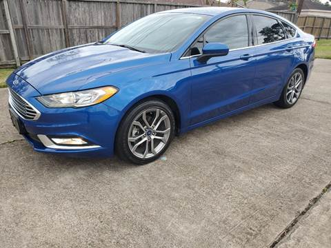 2017 Ford Fusion for sale at MOTORSPORTS IMPORTS in Houston TX
