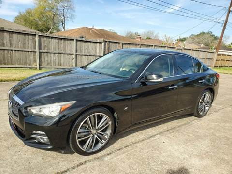 2014 Infiniti Q50 for sale at MOTORSPORTS IMPORTS in Houston TX