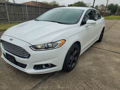 2015 Ford Fusion for sale at MOTORSPORTS IMPORTS in Houston TX