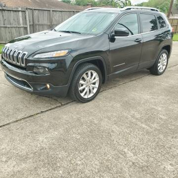 2017 Jeep Cherokee for sale at MOTORSPORTS IMPORTS in Houston TX