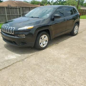 2014 Jeep Cherokee for sale at MOTORSPORTS IMPORTS in Houston TX