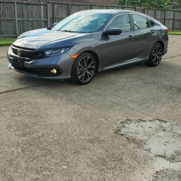 2020 Honda Civic for sale at MOTORSPORTS IMPORTS in Houston TX