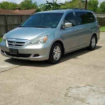 2007 Honda Odyssey for sale at MOTORSPORTS IMPORTS in Houston TX