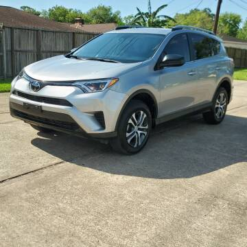 2018 Toyota RAV4 for sale at MOTORSPORTS IMPORTS in Houston TX