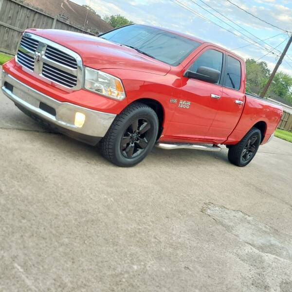2015 RAM Ram Pickup 1500 for sale at MOTORSPORTS IMPORTS in Houston TX