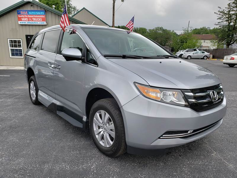 2016 Honda Odyssey for sale at South Hanover Auto Sales in Hanover PA