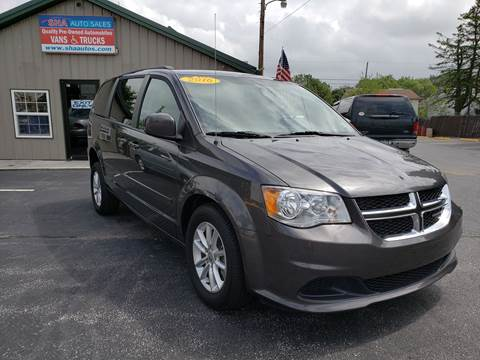 2016 Dodge Grand Caravan for sale at South Hanover Auto Sales in Hanover PA