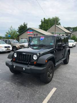 2012 Jeep Wrangler Unlimited for sale in Hanover, PA