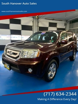 2011 Honda Pilot EX for sale at South Hanover Auto Sales in Hanover PA