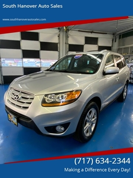 2011 Hyundai Santa Fe SE for sale at South Hanover Auto Sales in Hanover PA