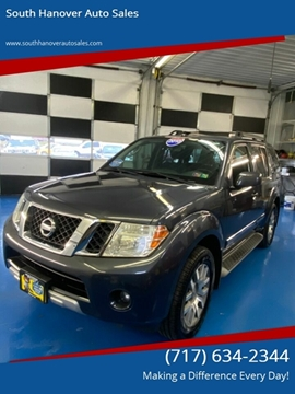 2010 Nissan Pathfinder LE for sale at South Hanover Auto Sales in Hanover PA