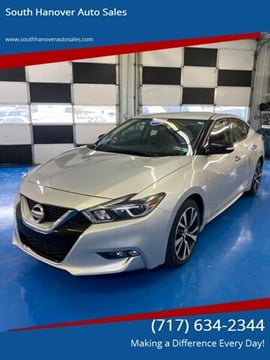 2017 Nissan Maxima 3.5 SV for sale at South Hanover Auto Sales in Hanover PA