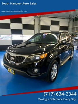 2012 Kia Sorento LX for sale at South Hanover Auto Sales in Hanover PA
