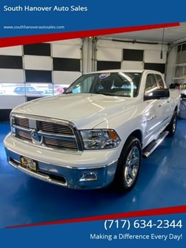 2012 RAM Ram Pickup 1500 Big Horn for sale at South Hanover Auto Sales in Hanover PA