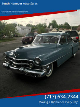 1951 Cadillac Series 62 for sale at South Hanover Auto Sales in Hanover PA