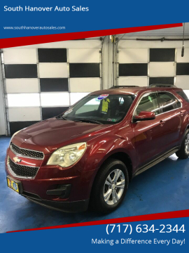 2010 Chevrolet Equinox for sale at South Hanover Auto Sales in Hanover PA