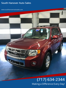 2012 Ford Escape for sale at South Hanover Auto Sales in Hanover PA