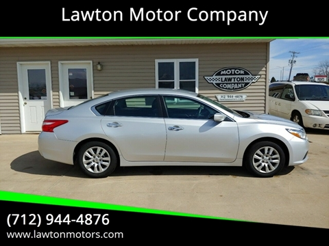 2016 Nissan Altima for sale in Lawton, IA