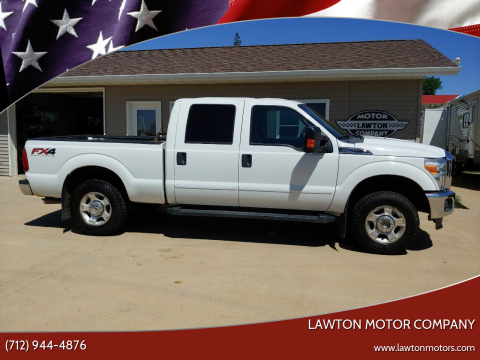 2012 Ford F-250 Super Duty for sale at Lawton Motor Company in Lawton IA