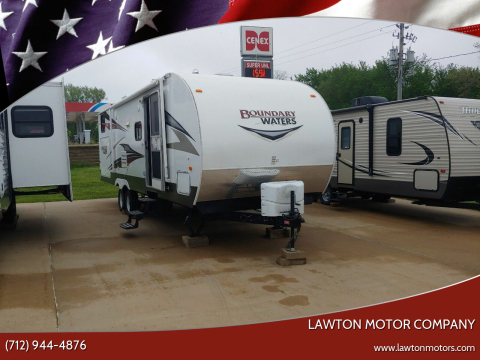 2013 Crossroads BOUNDRY WATERS for sale at Lawton Motor Company in Lawton IA
