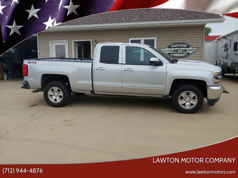 2018 Chevrolet Silverado 1500 LT for sale at Lawton Motor Company in Lawton IA