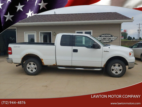 2004 Ford F-150 for sale at Lawton Motor Company in Lawton IA