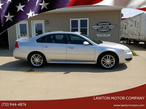 2014 Chevrolet Impala Limited for sale at Lawton Motor Company in Lawton IA